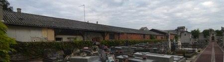 l'usine vue depuis le cimetière du Vieux Pays