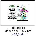ProjetsDesertes2009