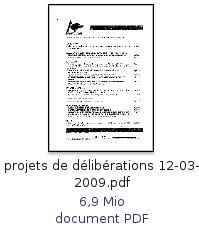 Prejets-deliberations0309