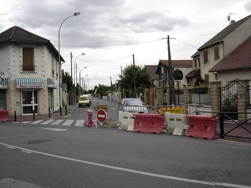 Entrée de la rue Turgot