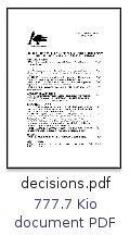 ICONE - Conseil municipal du 07/05/2009 : Décisions