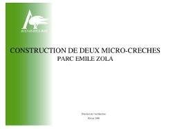 MicroCreches
