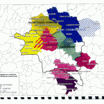 Périmètres envisagés de contrat de développement territorial du Grand Paris