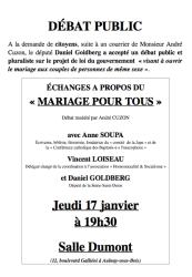 debat mariage