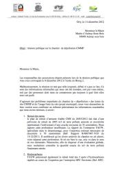 lettre maire cmmp