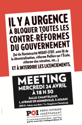 meeting poi aulnay