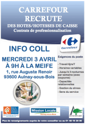 recrutement carrefour
