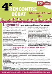 rencontre-debat pcf