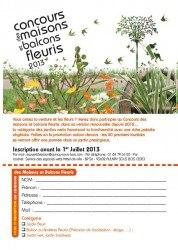 concours maisons fleuris