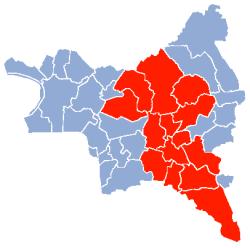 L'état de catastrophe naturelle est reconnu pour 14 villes de la Seine-Saint-Denis : Aulnay-sous-Bois, Le Blanc-Mesnil, Bondy, Drancy, Gagny, Livry-Gargan, Neuilly-Plaisance, Neuilly-sur-Marne, Noisy-le-Grand, Les Pavillons-sous-Bois, Le Raincy, Rosny-sous-Bois, Sevran, Villemomble.