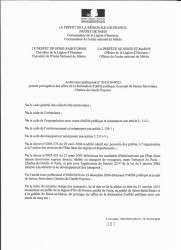 Prorogation DUP CDG Express, page 1