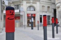 potelets déguisés tricot