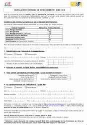formulaire cif