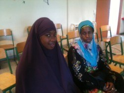 Kandia Dabo et sa mère