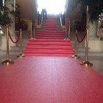 Le fameux tapis rouge de la réception du 31 mai 2015