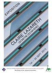 affiche CLAIRE LAZARETH v2