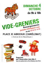 thumbnail of affiche Vide grenier 2015