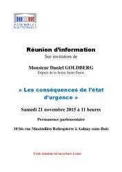 thumbnail of Invitation réunion Etat d'urgence