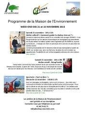 thumbnail of Programme_MDE_novembre_2015