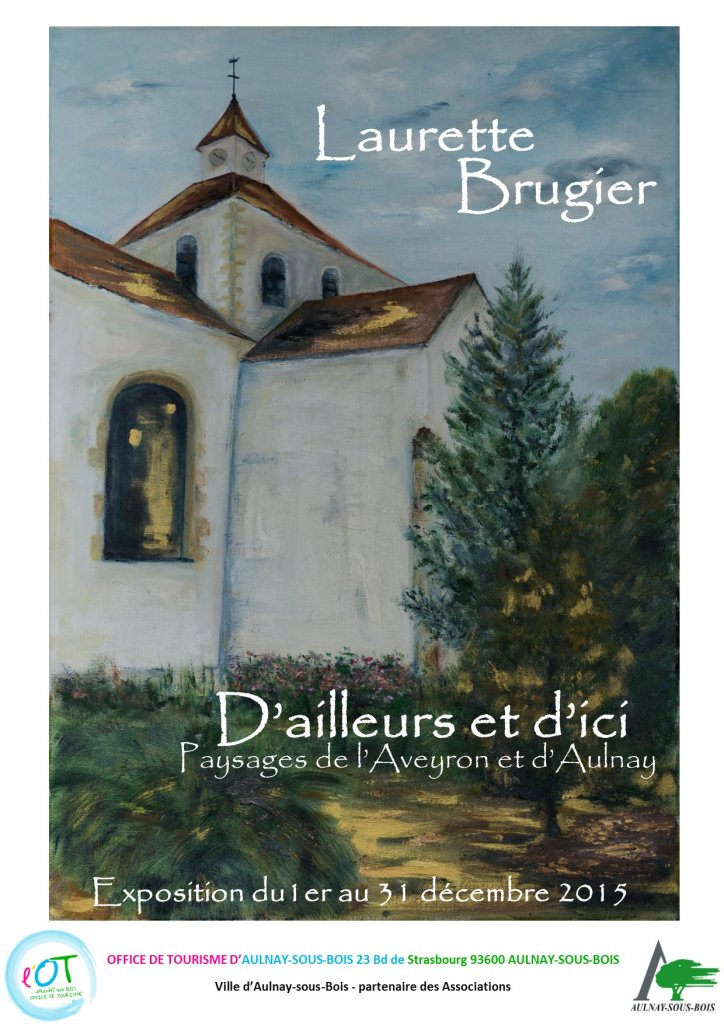affiche Laurette Brugier