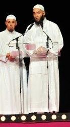 """Nader Abou Anas au """"salon de la femme musulmane"""" en septembre 2015 (CP Parismatch)"""