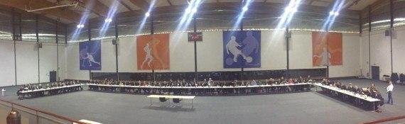 Premier conseil de territoire le 11 janvier à Aulnay-sous-Bois (Photo Yanck Hope sur Twitter)