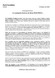 thumbnail of Communique PS Aulnay sur propos indignes B. Beschizza-V2