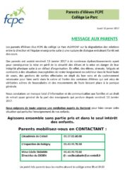 thumbnail of FCPE message aux parents 160117