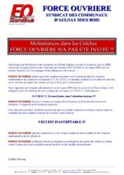 thumbnail of communiqué enquête administrative crèches FO pas invité 18 01 2017.compressed