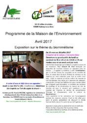 thumbnail of Programme Maison de l'environnement avril 2017-min