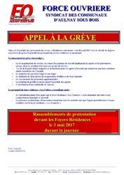 thumbnail of Foyer appel à la grève du personnel cèdres tamaris 03 05 17-min