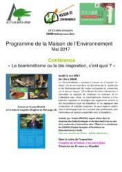 thumbnail of Programme de la Maison de l'Environnement mai 2017-min