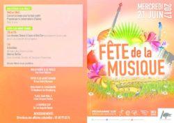 thumbnail of Porgramme Fête de la musique mercredi 21 juin 2017