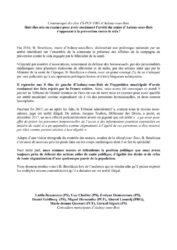 thumbnail of Communiqué Elus d'Aulnay-sous-Bois convoqués au Tribunal-min