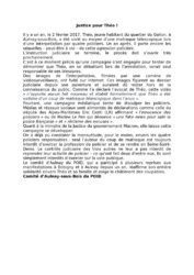 thumbnail of communiqué du POID Justice pour Théo