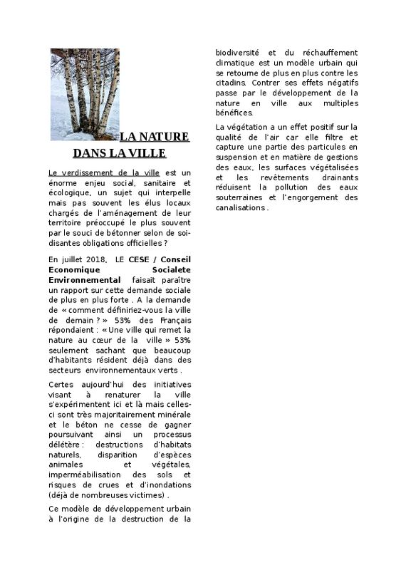 thumbnail of LA NATURE SANS LA VILLE.PDF