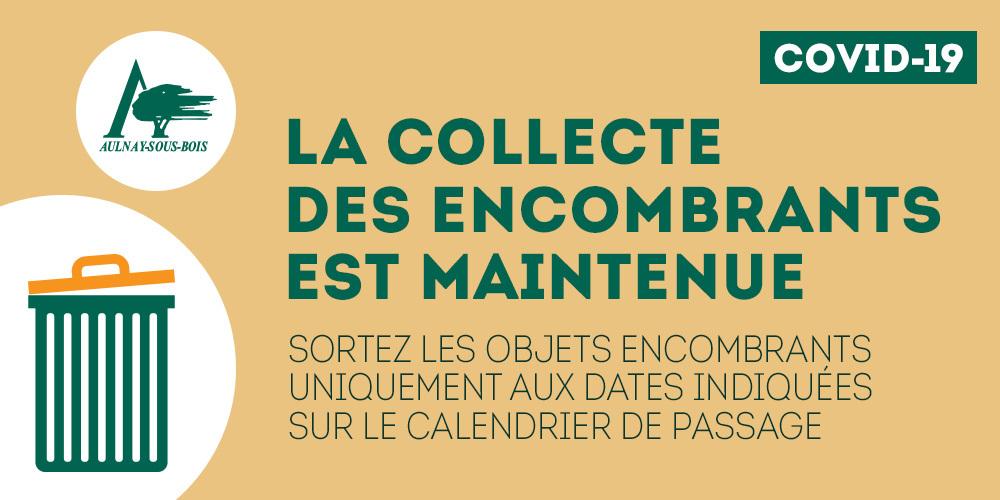 Calendrier Encombrants Fontenay Sous Bois 2022 La collecte des encombrants est maintenue   MonAulnay.– Le