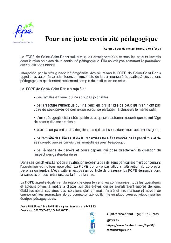 thumbnail of CPFCPE93mars2020continuitepedagogique