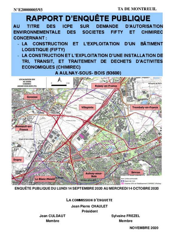 thumbnail of Rapport ICPE FIFTY CHIMIREC avec signatures-min