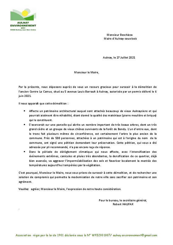 thumbnail of Lettre au Maire recours Le Camus2
